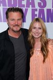 Greg Evigan,Vanessa Evigan. Greg Evigan and Vanessa Lee Evigan at the Los Angeles Screening of Tyler Perry's Madea's Big Happy Family. Arclight Theater royalty free stock photography