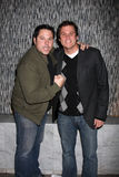 Greg Grunberg,Bob Guiney Royalty Free Stock Photo