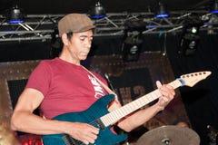 Greg Howe - Gitarrist Stockbilder