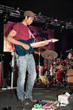 Greg Howe - guitariste Images stock