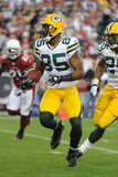 Greg Jennings Wide Receiver for the Green Bay Packers. Royalty Free Stock Photos