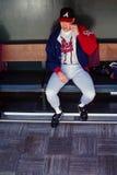 Greg Maddux Atlanta Braves Stock Photo