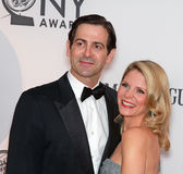 Greg Naughton and Kelli O'Hara Stock Image