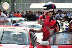 Greg Teo at porsche Carrera Cup Asia Stock Photography