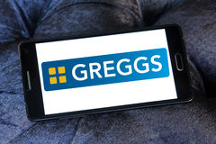 Greggs fasta food logo Zdjęcia Royalty Free