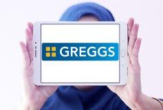 Greggs fasta food logo Zdjęcie Stock