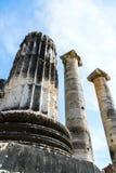 Grego Templo de Ártemis perto de Ephesus e de Sardis foto de stock royalty free