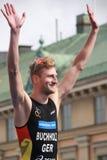 Gregor Buchholz - бронзовый медалист Стоковые Изображения RF