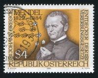 Gregor Mendel Fotografia de Stock Royalty Free
