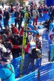 Gregor Schlierenzaueron, ski jumper Royalty Free Stock Image