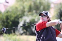 Gregor Slabe am Golf Prevens Trpohee 2009 Stockfotos