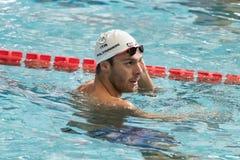 Gregorio Paltrinieri swimmer during 7th Trofeo citta di Milano swimming competition. Stock Images