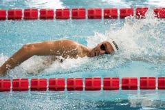 Gregorio Paltrinieri swimmer during 7th Trofeo citta di Milano swimming competition. Stock Photos