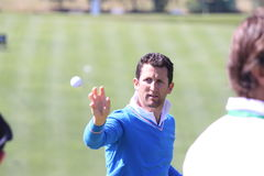 Gregory Bourdy au golf d'Andalousie ouvert, Marbella Image stock