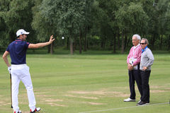 Gregory Bourdy au golf français ouvrent 2013 Photo libre de droits