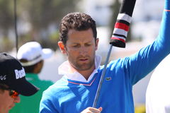 Gregory Bourdy bij Andalucia Open Golf, Marbella Royalty-vrije Stock Fotografie