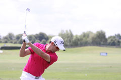 Gregory Bourdy bij Andalucia Open Golf, Marbella Stock Fotografie
