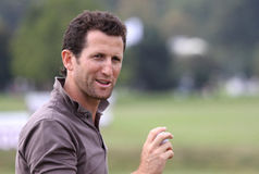 Gregory Bourdy, cuvette de golf de Vivendi, septembre 2010 Photos stock