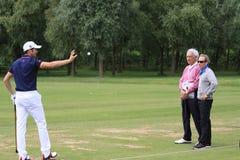 Gregory Bourdy przy Francuskim golfem Otwiera 2013 Zdjęcie Royalty Free