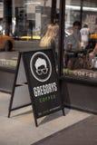 Gregory Coffee Shop à New York City, Etats-Unis photographie stock libre de droits