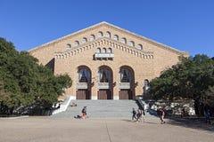 Gregory Gymnasium an der Universität von Texas stockfotografie
