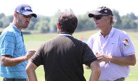 Gregory Havret at golf French Open 2010 Stock Image