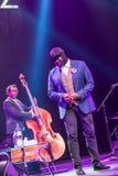 Gregory Porter an Kaunas-Jazz 2015 Lizenzfreie Stockfotos