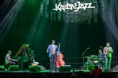 Gregory Porter an Kaunas-Jazz 2015 Lizenzfreies Stockbild