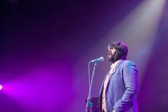 Gregory Porter at Kaunas Jazz 2015 Royalty Free Stock Photography