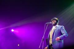 Gregory Porter at Kaunas Jazz 2015 Stock Photos