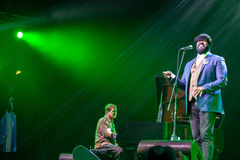 Gregory Porter at Kaunas Jazz 2015 Stock Image