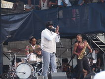 Gregory Porter Newport Royalty Free Stock Images