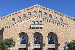 Gregory sala gimnastyczna przy uniwersytetem teksańskim obrazy royalty free