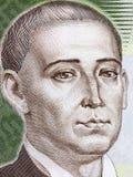 Gregory Skovoroda portrait Stock Photos