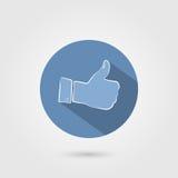 Greifen Sie herauf Ikone ab Lizenzfreie Stockfotografie