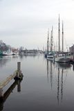 Greifswald harbor Royalty Free Stock Photos