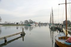 Greifswald Harbour Royalty Free Stock Image