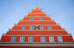 Greifswald townhall Royalty Free Stock Images