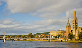 Greig Street Bridge Inverness. Stock Photography