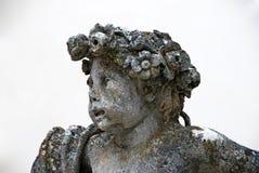 GREILLENSTEIN, АВСТРИЯ: барочная статуя диаграммы детей Стоковые Фото