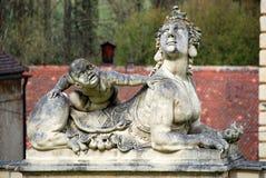 GREILLENSTEIN, AUSTRIA: barokowa statua chimera Fotografia Stock