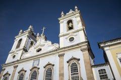 Greja da Ordem Terceira do Carmo church in Pelourinho, Salvador Stock Photos