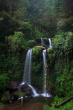 Grejegan Kembar. The beautifull waterfall of Magelang, Central Java Royalty Free Stock Photos