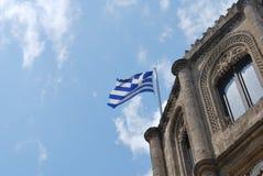 grek bandery Zdjęcie Royalty Free