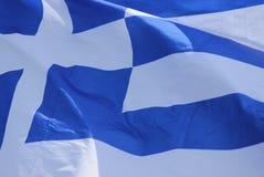 grek bandery Obrazy Stock