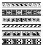 Grek inramar vektorsamlingen Royaltyfri Foto