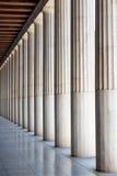 Grek kamienne kolumny Obrazy Stock