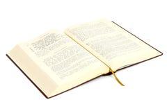 Grek otwarta biblia zdjęcia stock