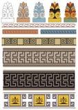 greken smyckar vektorn Arkivfoton