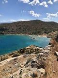 Grekisk ö oktober Arkivfoton